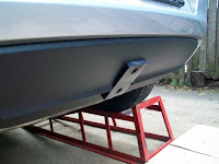 Golf VI tow bar with lug removed