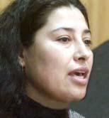 Patricia Troncoso Robles -Dirigenta mapuche en huelga de hambre