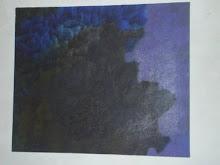 Pintura de Filipe e poesia da poeta Ana Martins  do blog AVE SEM ASAS para ele.