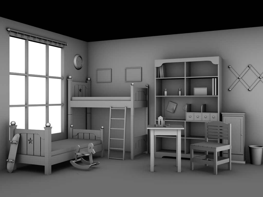 3d world 3ds max v ray. Black Bedroom Furniture Sets. Home Design Ideas