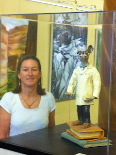 Whats That Big Sculpture In Front Of >> Tuppy's Ceramic Sculpture and Art: Antoniaart Ceramic sculptures at Alta Bates Medical Center ...