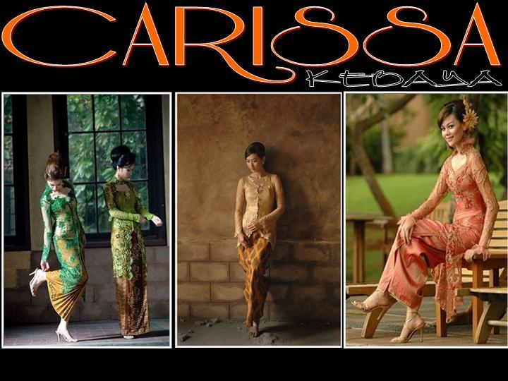carissa kebaya dengan bangga menyajikan kebaya untuk wanita indonesia ...