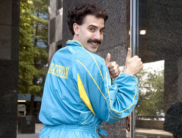 """""""Borat"""" Banned in the Middle East"""