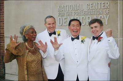 George Takei Weds Longtime Partner Brad Altman