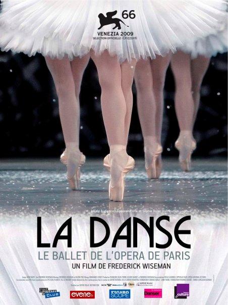 Movie poster for Frederick Wiseman's La Danse