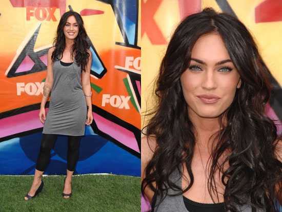 megan fox hair color. lip colour on Megan Fox I