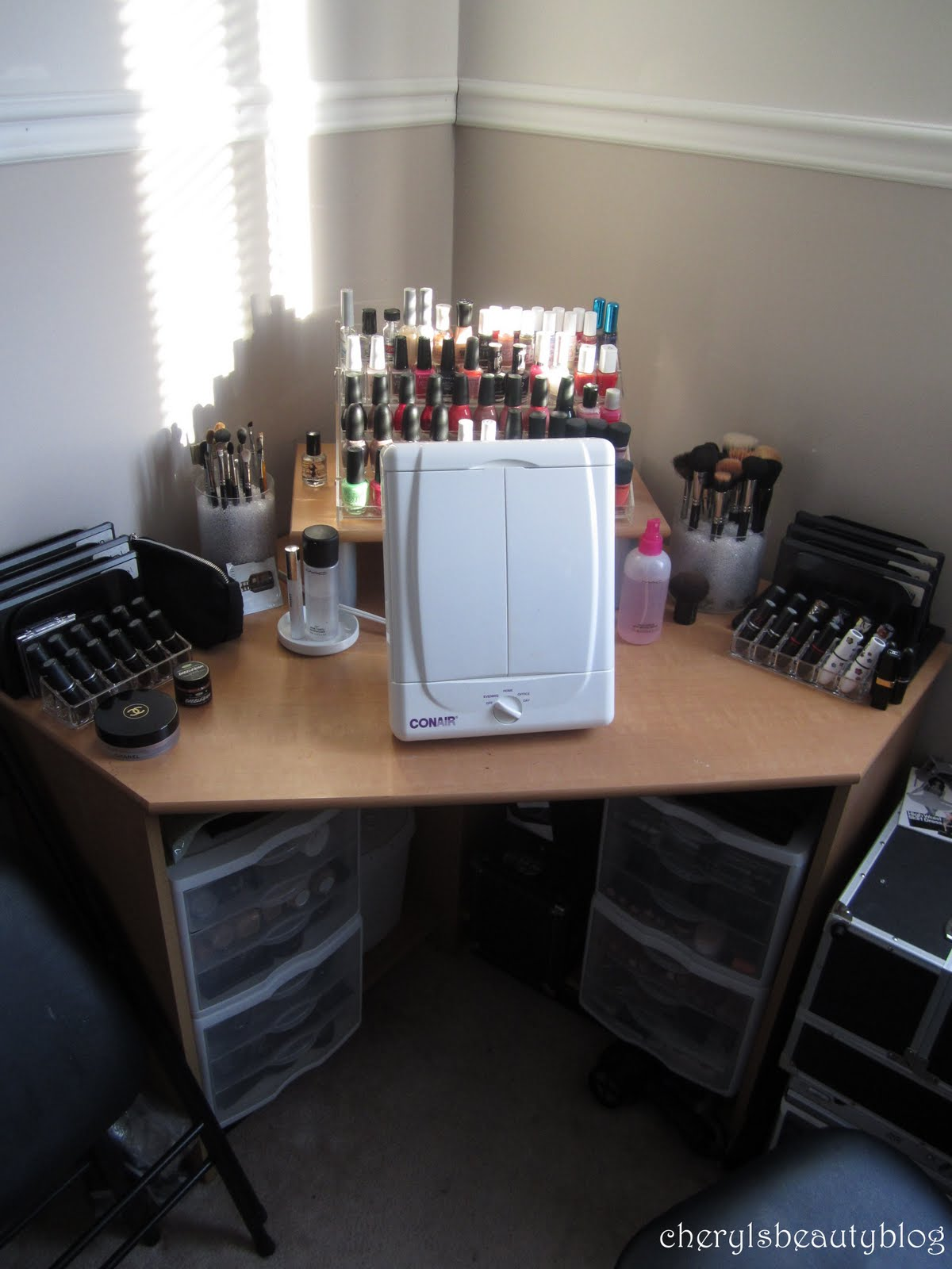 Makeup By Cheryl : Updated Makeup Collection + Storage