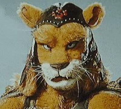 I'LL BE BACK! Lion+Man