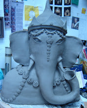 Ganesha (greenware)