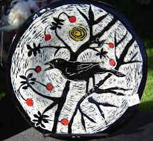 Bird and Cherries (sold)