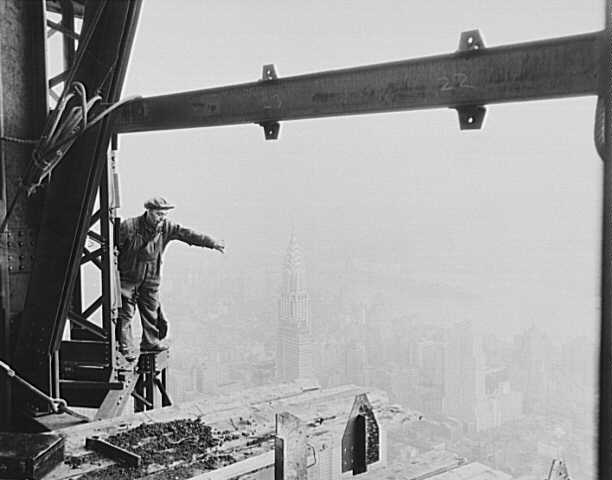 Photos d'une autre époque Construction