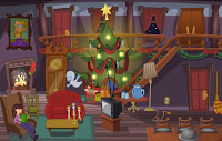 Caspers Haunted Christmas Is Another Really Nice Point And Click Game Made By Sarbakan Help Casper Stop His Three Uncles Fatso Stretch Stinky