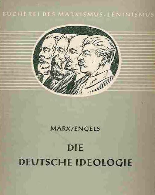La ideologia alemana Die+Deutcshe