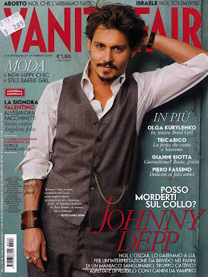 Johnny Depp Italian Vanity Fair 2008 Photo Shoot