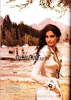 Sonam Kapoor L'official Photoshoot