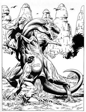 For More Illustrations Of Tarzan By Master Artists Including Manning Visit Rip Jaggers Dojo The Black White Gallery Post