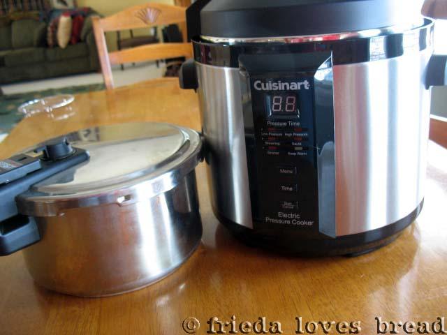 Cooks Electric Pressure Cooker ~ Frieda loves bread electric pressure cooking step one