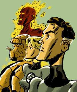Dan McDaid Fantastic Four