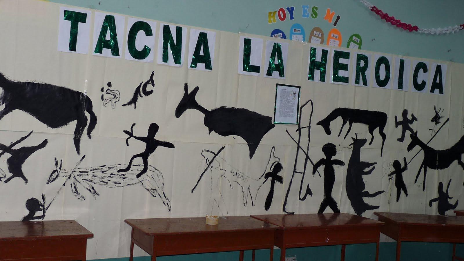 Apuntes aurelianos feria de ciencias sociales 2010 for Como decorar un mural