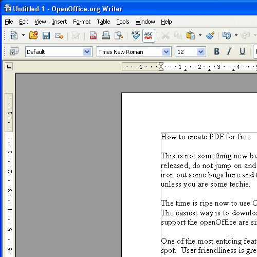 open office icon. capture of openOffice.