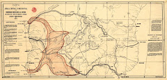 CARTA DE AFRACA MERIDIONAL DE 1877