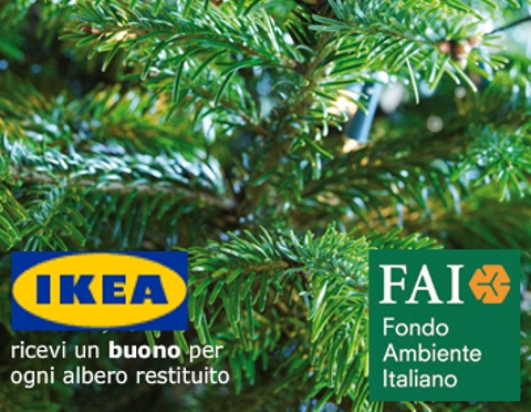 Spacci in italia albero di natale low coast dove all 39 ikea for Ikea albero di natale
