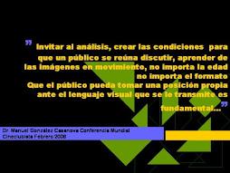 Invitar al análisis crear las condiciones para que un público se reúna...