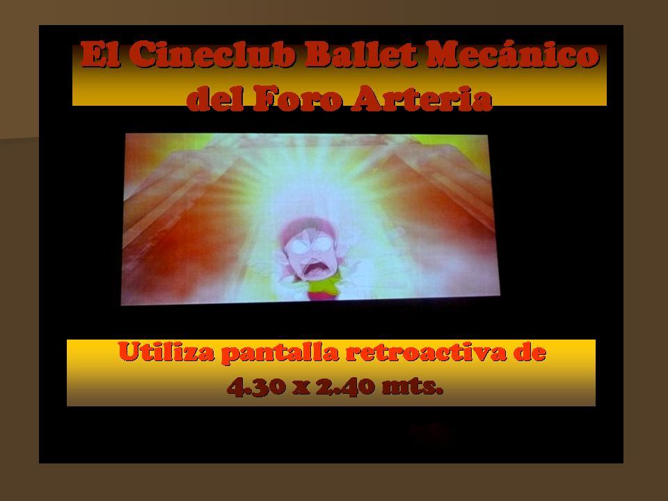 El Cineclub Ballet Mecánico del Foro Arteria