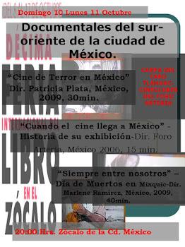 3 Propuestas Documentales en Feria Internacional del Libro 2010