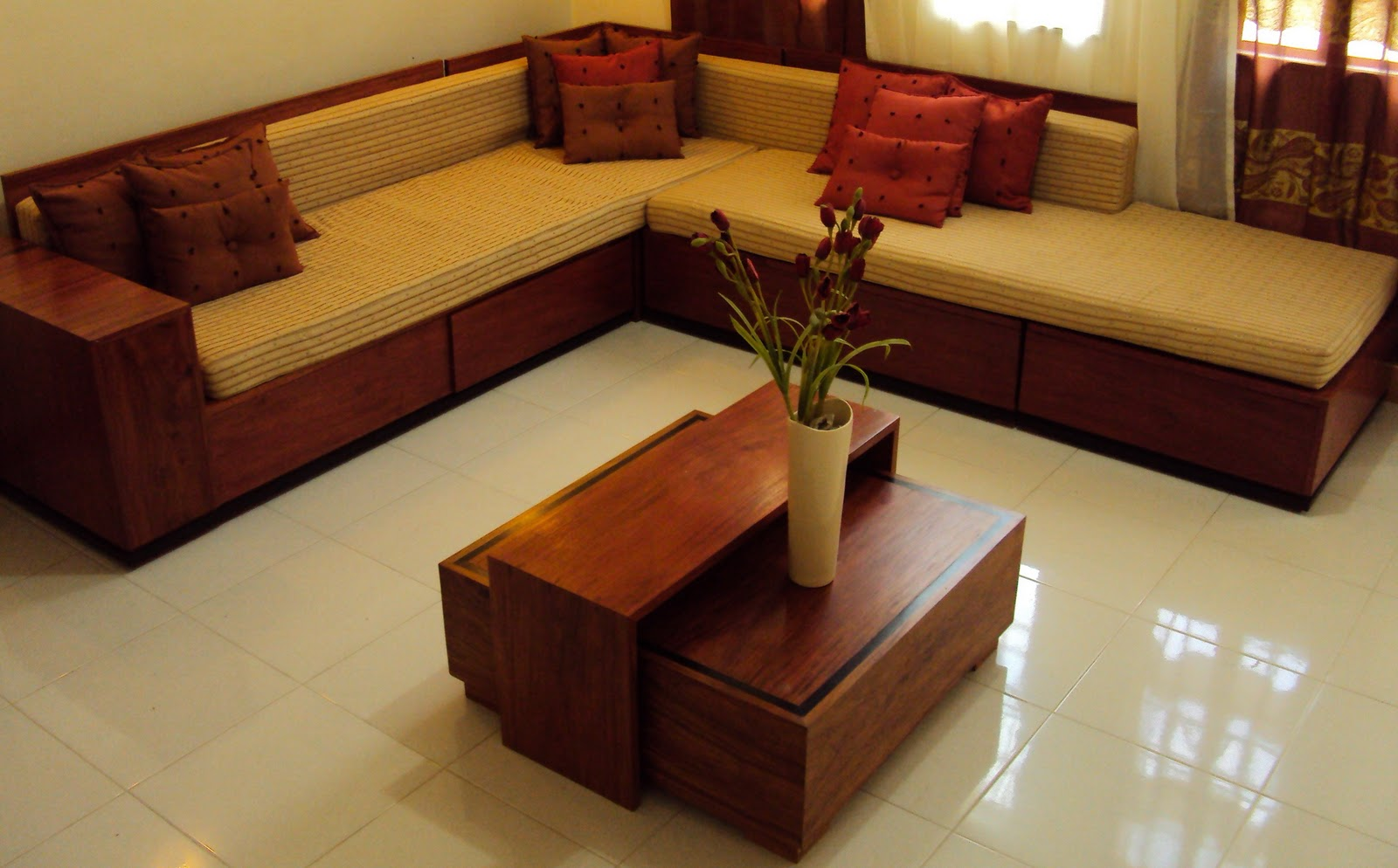 Planes angles sala set for Living room set design
