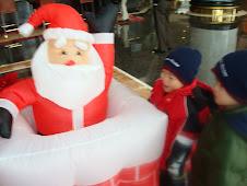 Santa in China?