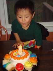 Sam's 5th birthday celebration