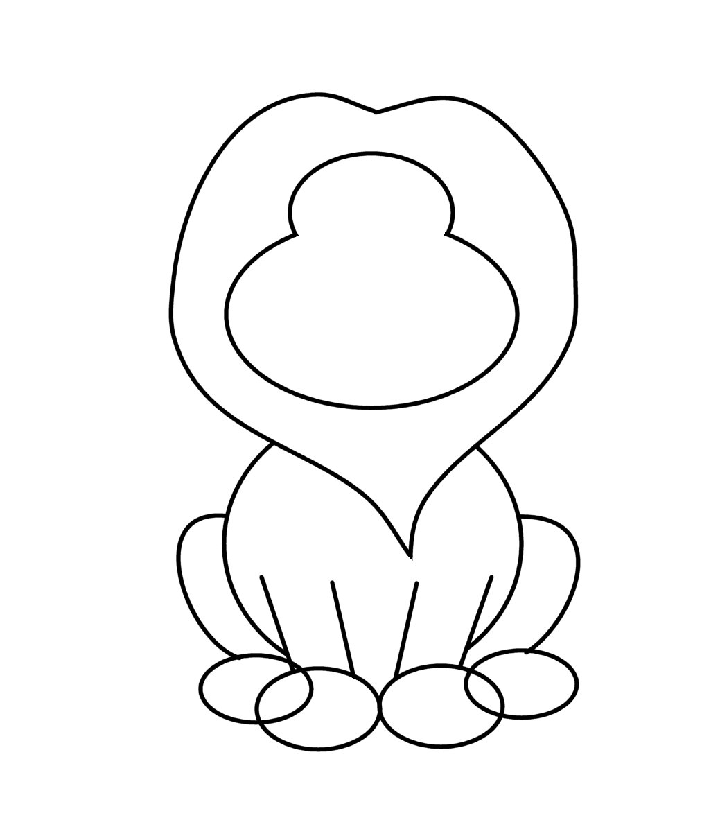 how to draw a cute cartoon lion