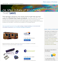 Oil Spill Clean-Up Solutions that Save