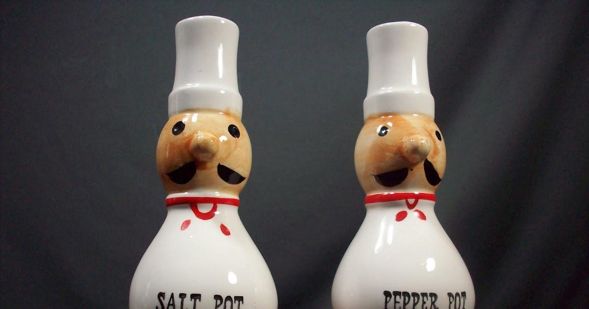 No Message Here Nasco Salt Pepper Pots