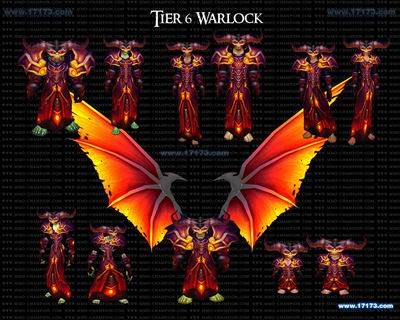 warlock tier 11. World of Warcraft:Tier 6 Full