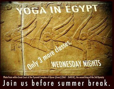 yoga in the pyramids
