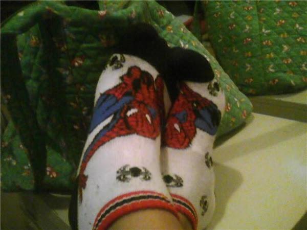 Spidey Feet   : )
