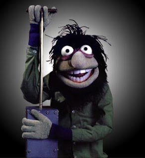 Crazy Harry from the Muppets. Me without cigarettes.