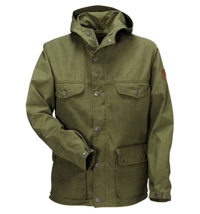 Fjällräven womens military jacket