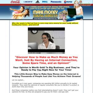 Make Money Taking Surveys