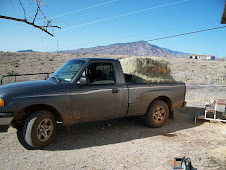 Unloading hay again
