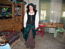 Shawna ready for the Ren Fair