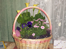 Basket of Easter Blooms