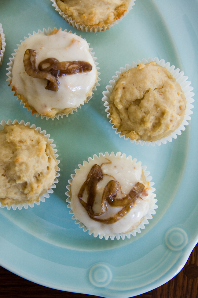 Savory Cupcakes – Fig, Goat Cheese, and Onion | Cupcake Project