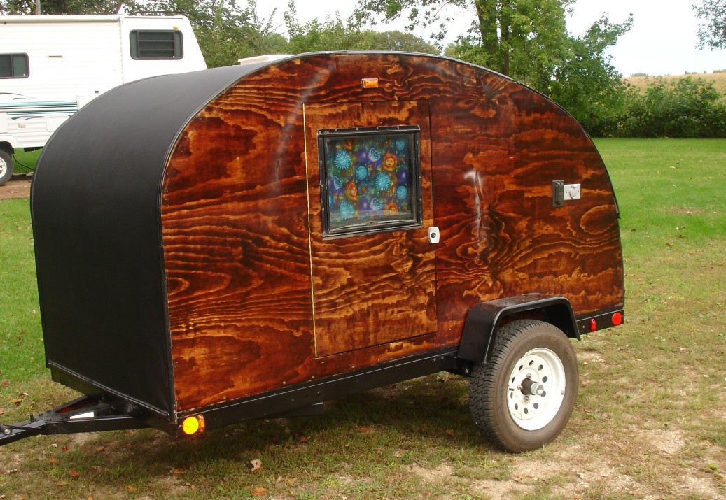 how to build a motorcycle teardrop camper