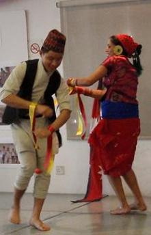 culture file nepalese dancing express teach