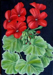 I Love Gardening As Much Painting Guess That Is Why Paint So Many Flowers Here Are Two Of My Latest Small Oil Paintings