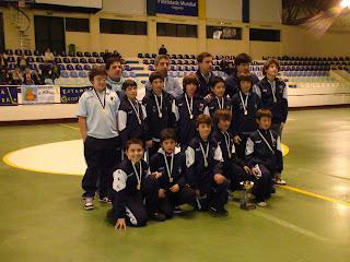 Equipa de escolares do H. C. Sintra sagrou-se campeã distrital da época de 2008/2009