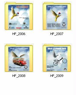 Memorias Vuelos y Viajes Literarios REDNEL Colombia 2006-2008